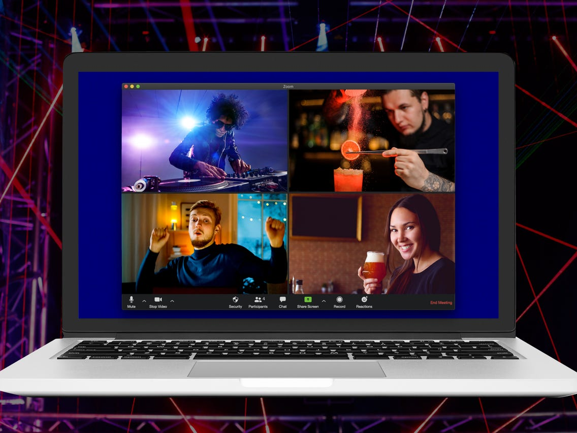 Clubbing Internet with TV